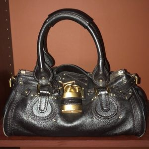 Chloe Brown Leather Paddington W /Lock&Key!